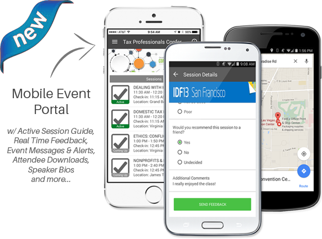 Mobile Event Portal (No Download Necessary)